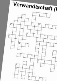 das Kreuzworträtsel, -