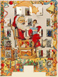 Der Adventskalender: der Weihnachtsmann