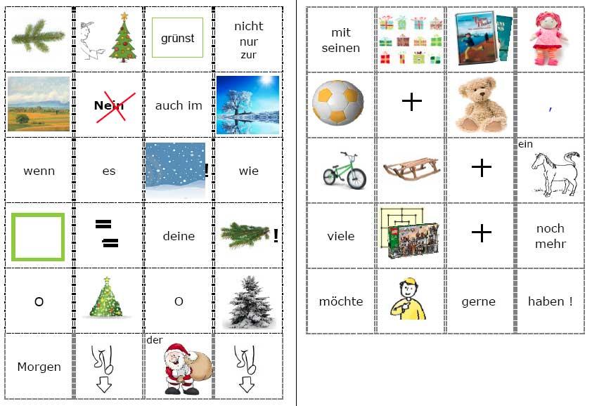 Weihnachtslieder in Bildern 2 von comunicArte.de