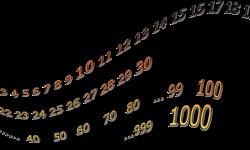 Zählen von 0-1000 · audio von reflejarte.es/DeutschamStrand