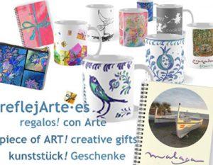kunststück ! Geschenke · Schenk was Originelles >>> reflejArte·Shop <<<