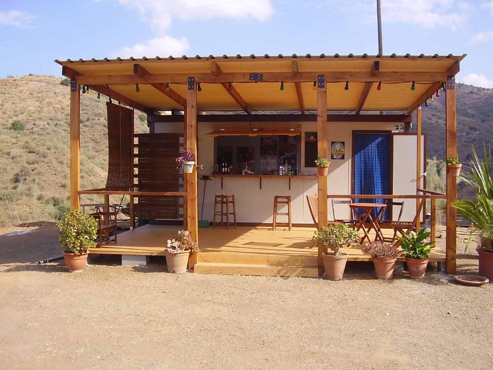 Finca fortuna casa rural terraza kiosco fortuna for Imagenes de kioscos de madera