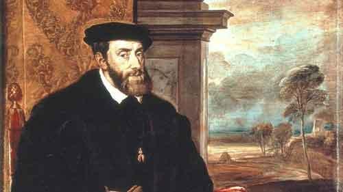 Karl V, Portrait von Tizian 1548