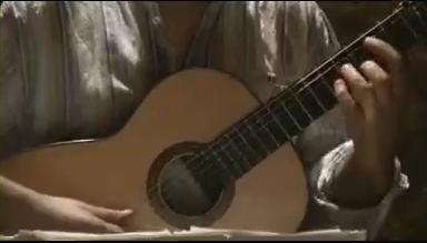 Manuel Esteban a la guitarra