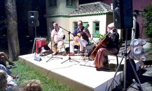 El Sombrero del Alquimista en las IV Veladas musicales de La Najarra/Almuñécar 2010: Salma Vives, Manuel Esteban, Ignacio Béjar