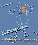 El Sombrero del Alquimista en Plaza Mayor, Málaga 2011: Salma Vives, Manuel Esteban, Ignacio Béjar