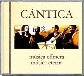 CD CÁNTICA by Cántica Cuarteto - La Rêverie-CD