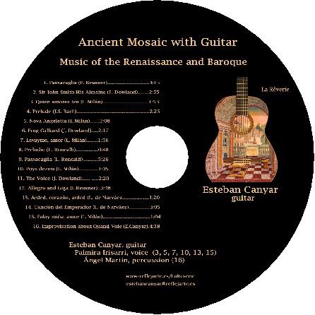 Cd Ancient Mosaic with Guitar :: La Rêverie