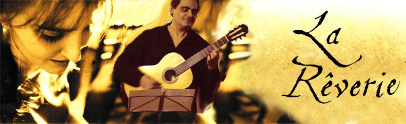 La Rêverie :: Ancient Mosaic With Guitar :: Esteban Canyar :: Palmira Irisarri