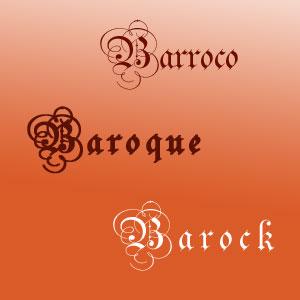 Barroco · Baroque · Barock
