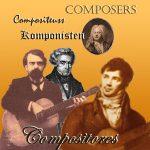 COMPOSITOR · COMPOSER · AUTOR