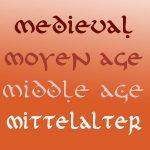 Medievo · Middle Age