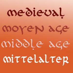Medievo · Moyen Âge · Middle Age · Mittelalter @ guitar-repertoire.com