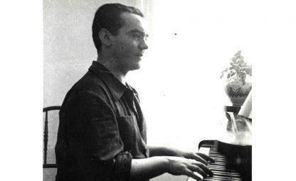 Federico García Lorca al piano