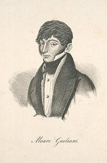 Mauro Giuliani (1781-1829) - estudios para guitarra - La Mariposa