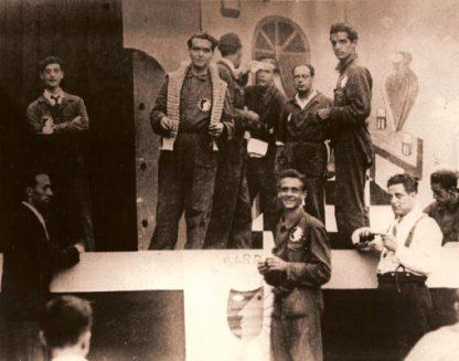 Lorca y miembros de la Barraca 1932