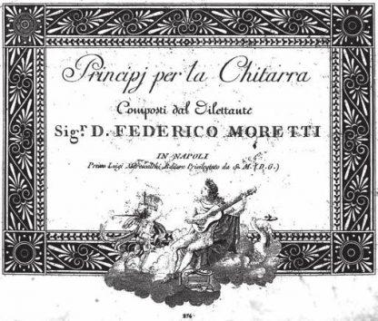 Moretti, Princiipi per la chitarra