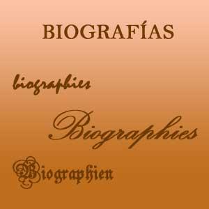 biografía · biography