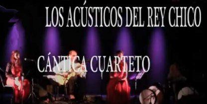Cántica Cuarteto interpreta el poema BAILE de Lorca en el Rey Chico de Granada, 2018
