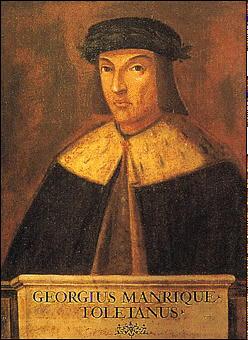 Jorge Manrique (1440-1479)portrait