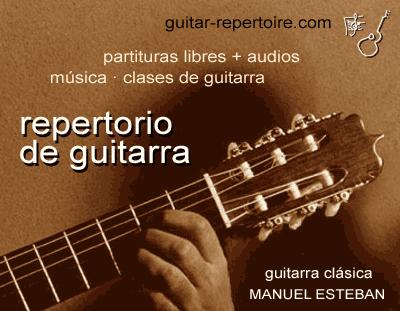 guitar-repertoire.com  ·Manuel Esteban·